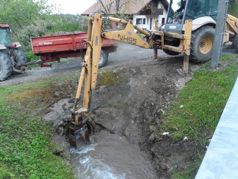 La ravine en crue mai 2015